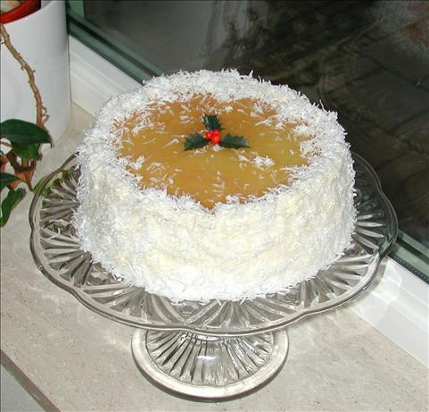 Coconut-Pineapple Cake With Cream Cheese Frosting