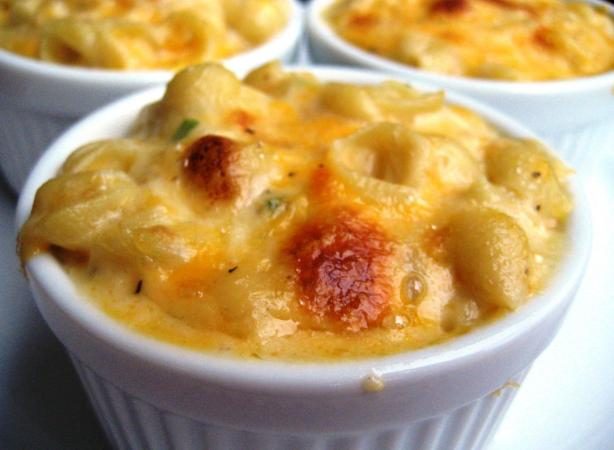 Creamy Macaroni & Cheese - for Two or One