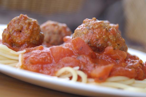 Mama Iuliucci's Famous Meat-A-Balls (Italian Meatballs)