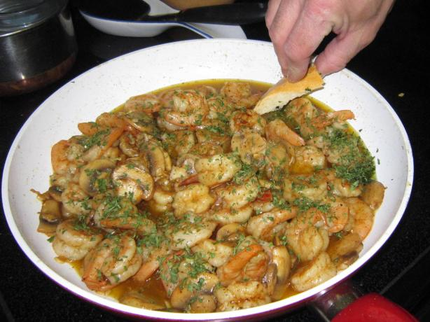 Gambas Al Ajillo (Shrimp W/ Garlic) Catalonia