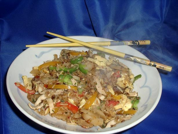 Restaurant Quality Chinese Chicken Fried Rice