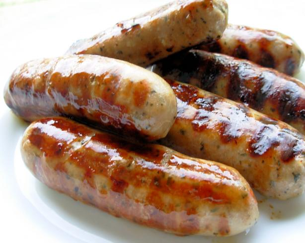 Old Fashioned English Spiced Pork and Herb Sausages or Bangers!