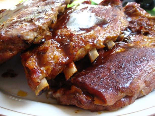 Beth's Melt in Your Mouth Barbecue Ribs (Oven)