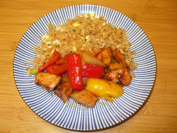 Ashley's Honey Chicken Stir-Fry