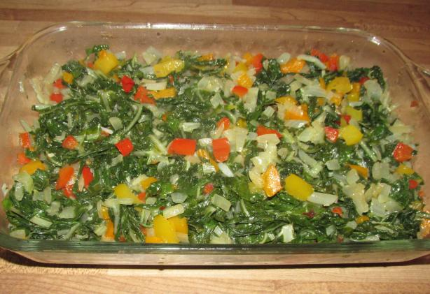 Spicy Swiss Chard or Spinach
