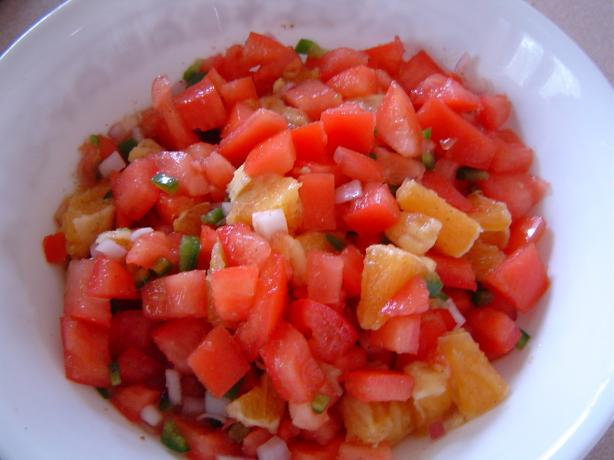 Tomato Orange Salsa