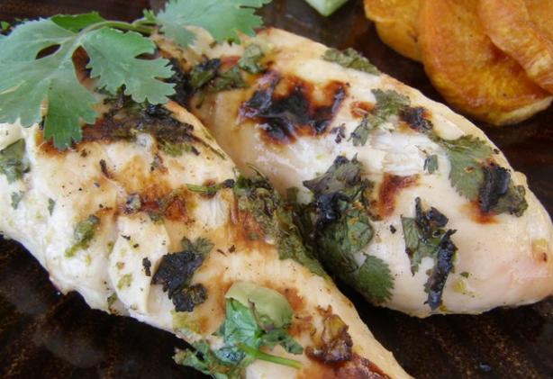 Tequila-Lime Grilled Chicken Breasts