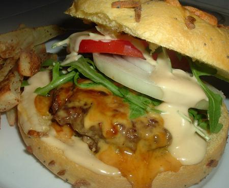 Mushroom Stuffed Burgers