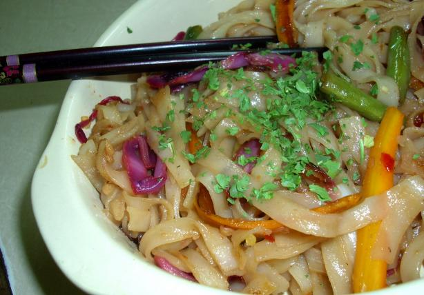 Sweet & Hot Asian Noodles