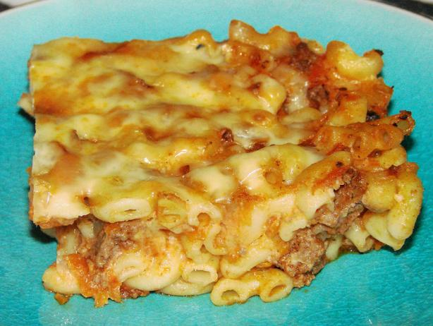 Beef, Cheese, and Noodle Bake
