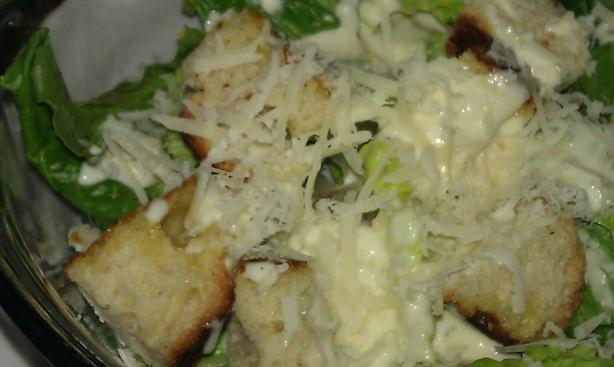 Shortcut Caesar Salad