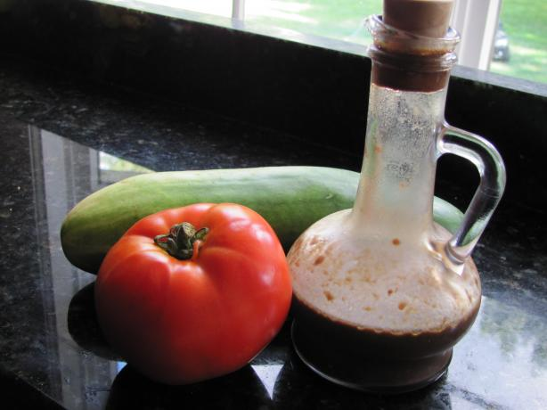 Light Balsamic Vinaigrette Salad Dressing