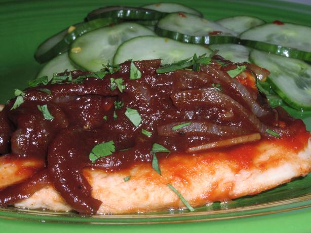 Balsamic-Honey Glazed Chicken Breasts