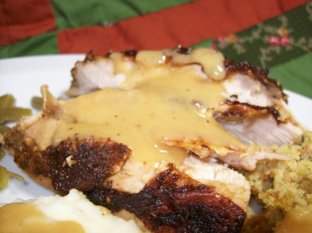 Roasted Turkey Breast With Zesty Dry Rub