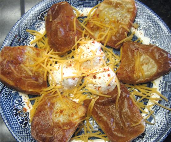 Oven-rack Baked Potatoes