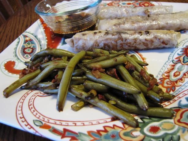 Asian Green Beans in a Snap