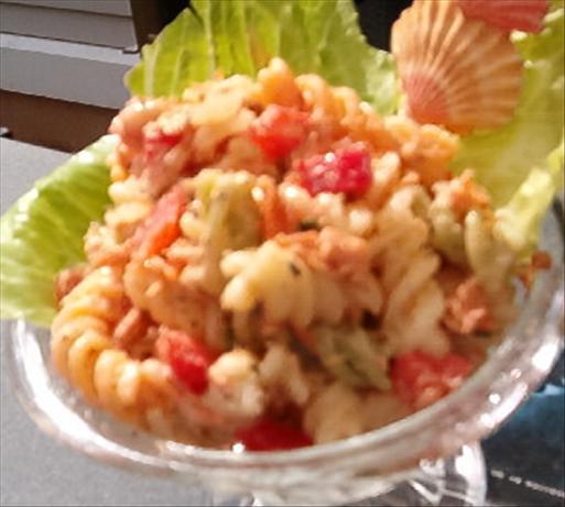 Salmon Fusilli Salad