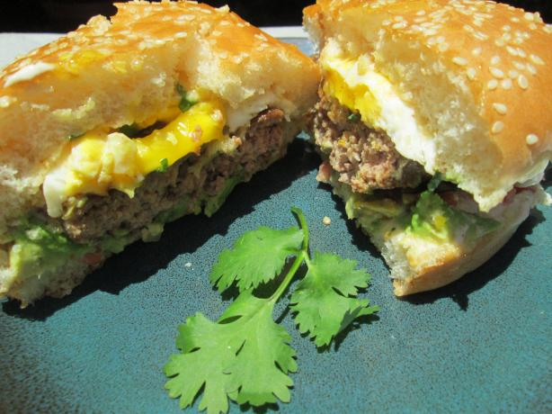 Mexican Burgers With Avocado & Fried Eggs