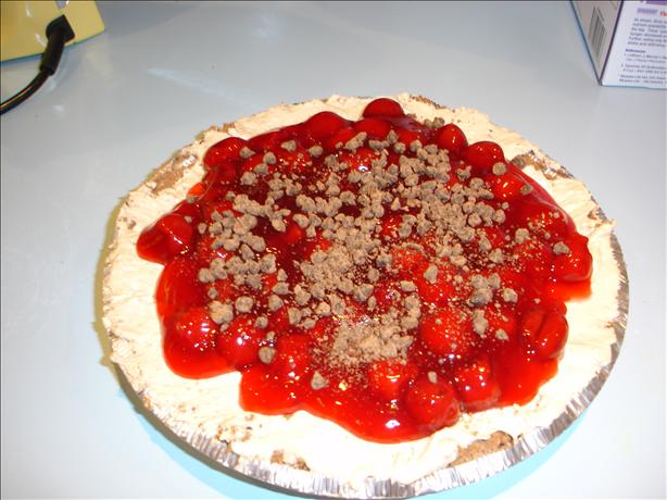 Evil Chocolate Cherry pie