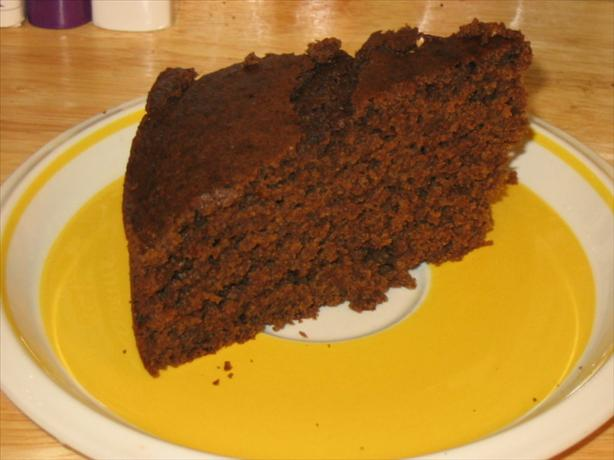 Applesauce Molasses Cake - Low-Fat, Dairy-Free & Gluten-Free