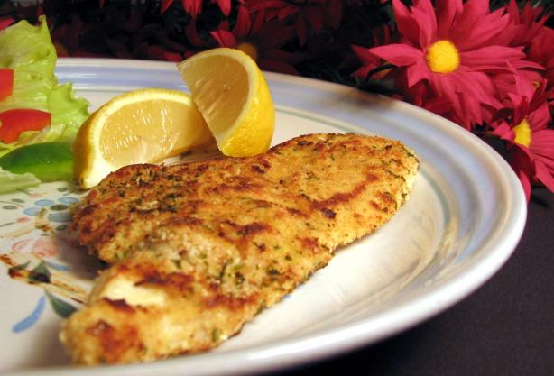 Pan-Fried Chicken Schnitzel-Style