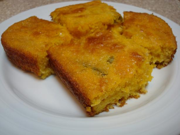 Jalapeno and Cheddar Cornbread