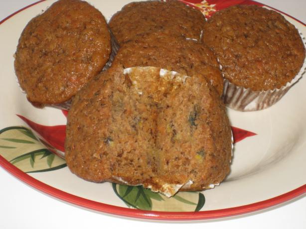 Carrot-Banana Muffins (Or Bundt Cake)