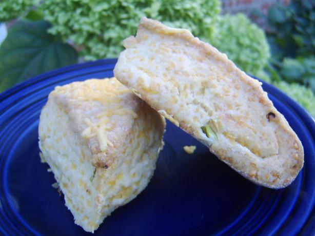 Scottish Cheddar Cheese and Spring Onion Tea-Time Scones