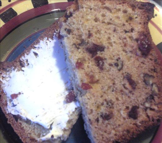 Cheddar Walnut Cranberry Bread