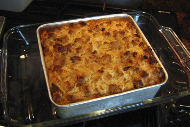 Bailey's Irish Cream Bread Pudding
