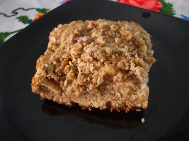 Cinnamon Pecan Streusel Cake