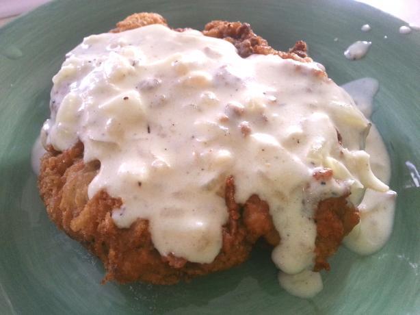 All American Chicken Fried Steak With Cream Gravy