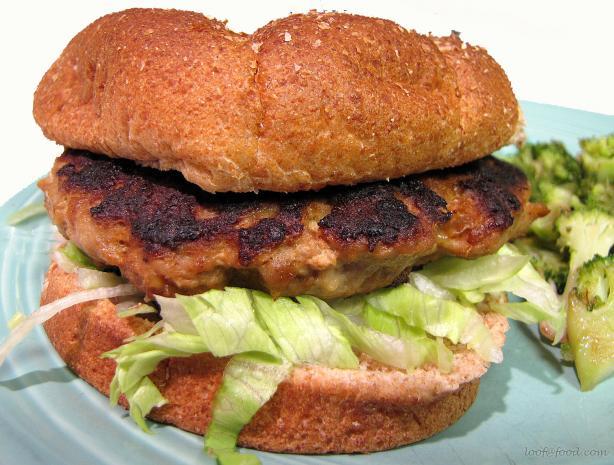 Asian Turkey Burgers