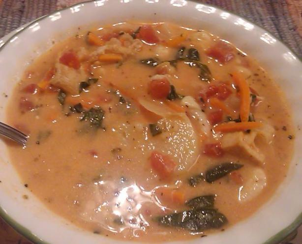 Chicken and Potato Florentine Soup (Olive Garden)