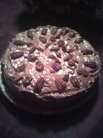 Marks' Chocolate-Cream Cheese Cake With Pecans