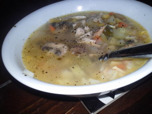 Jane & Michael Stern's Old-Fashioned Homemade Turkey Soup