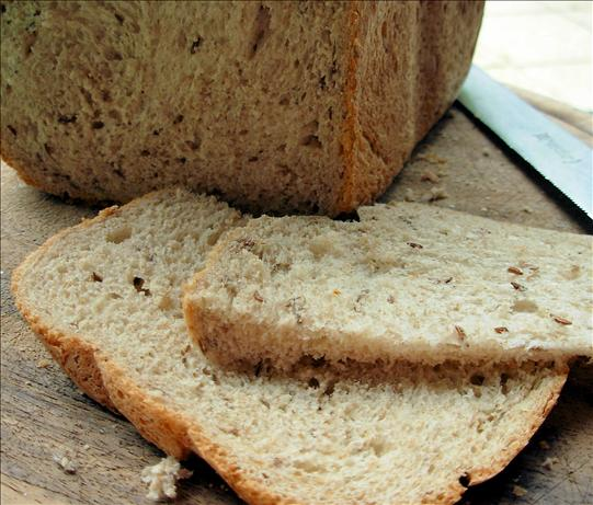 German Country Style Sourdough Rye Bread With Caraway Seeds