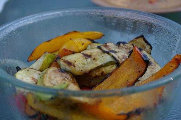 Grilled Zucchini (And Other Vegetables)