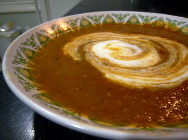 Red Lentil Soup-Turkish Style