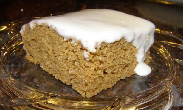 Heather's Pumpkin Bars W/ Frosting (Only 135 Calories!)