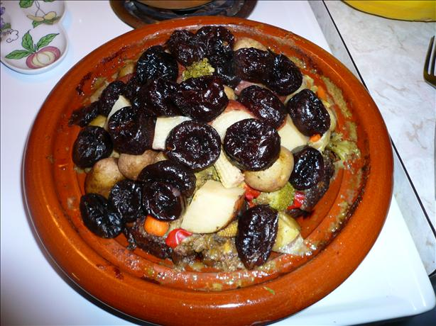 Beef and Prunes a La Tajine/Tagine