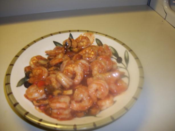 Dad's Absolutely Amazing Brandied Shrimp
