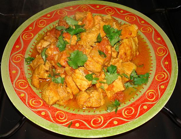 Pork Curry ( for the Ladies)