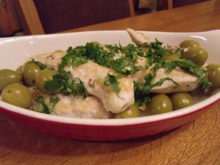 Low Fat Chicken With Lemon and Olives