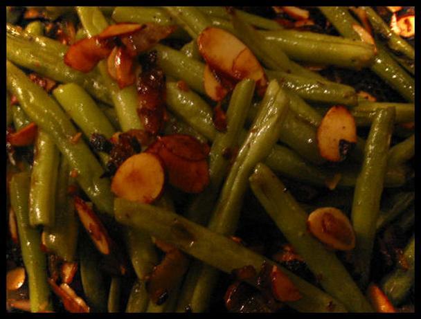 Tamari Almond Green Beans
