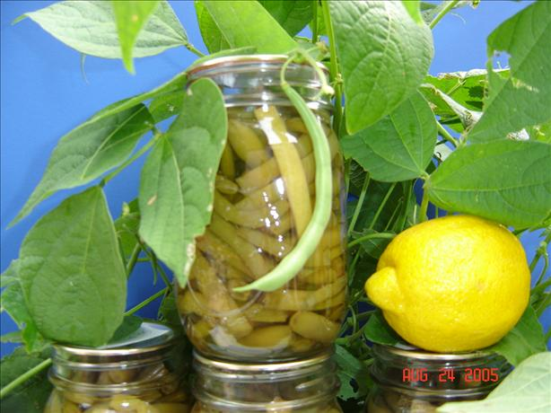 Green Beans With Lemon Peel