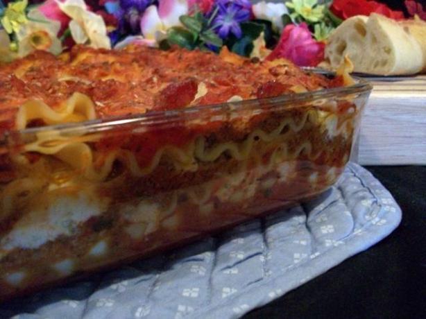 Bird's Italian Style Lasagna