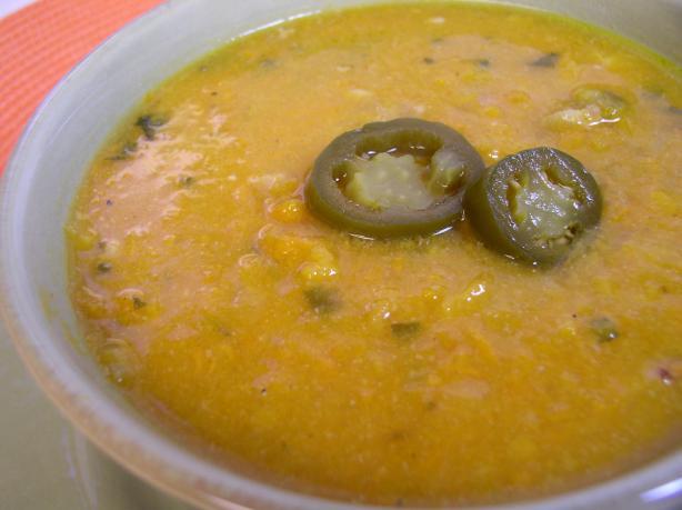 Jalapeno Sweet Potato Soup