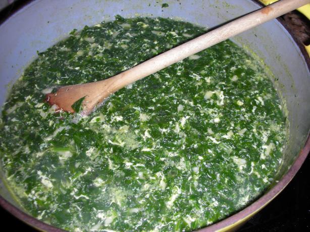 Easy Stracciatella Italian Soup