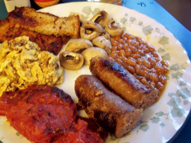 Bodacious British Bangers and Baked Beans Brunch!